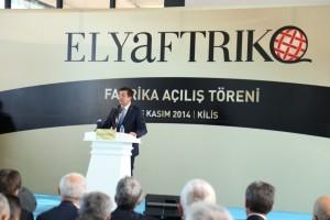 Elyaftriko fabrika acilis_Ekonomi Bakani konusmasi (Medium)