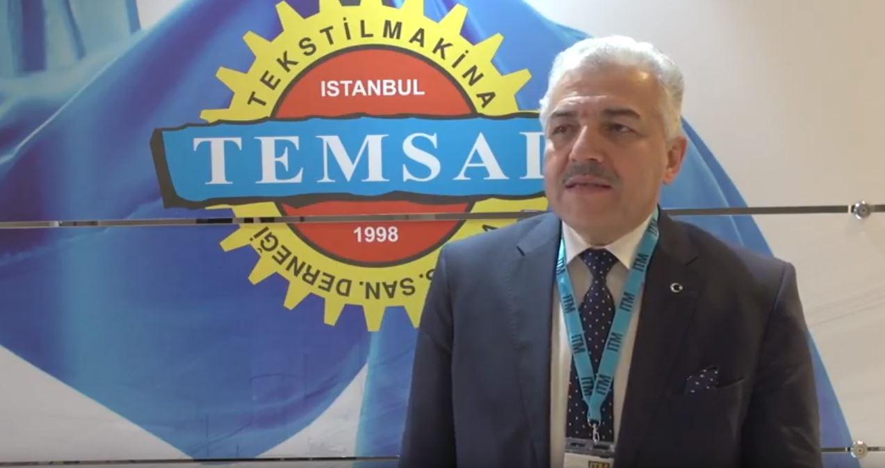İtm 2018 fuarında TEMSAD derneği Başkanı ile yaptığımız söyleşi