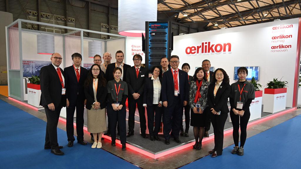 Oerlikon Showed World Premieres In China