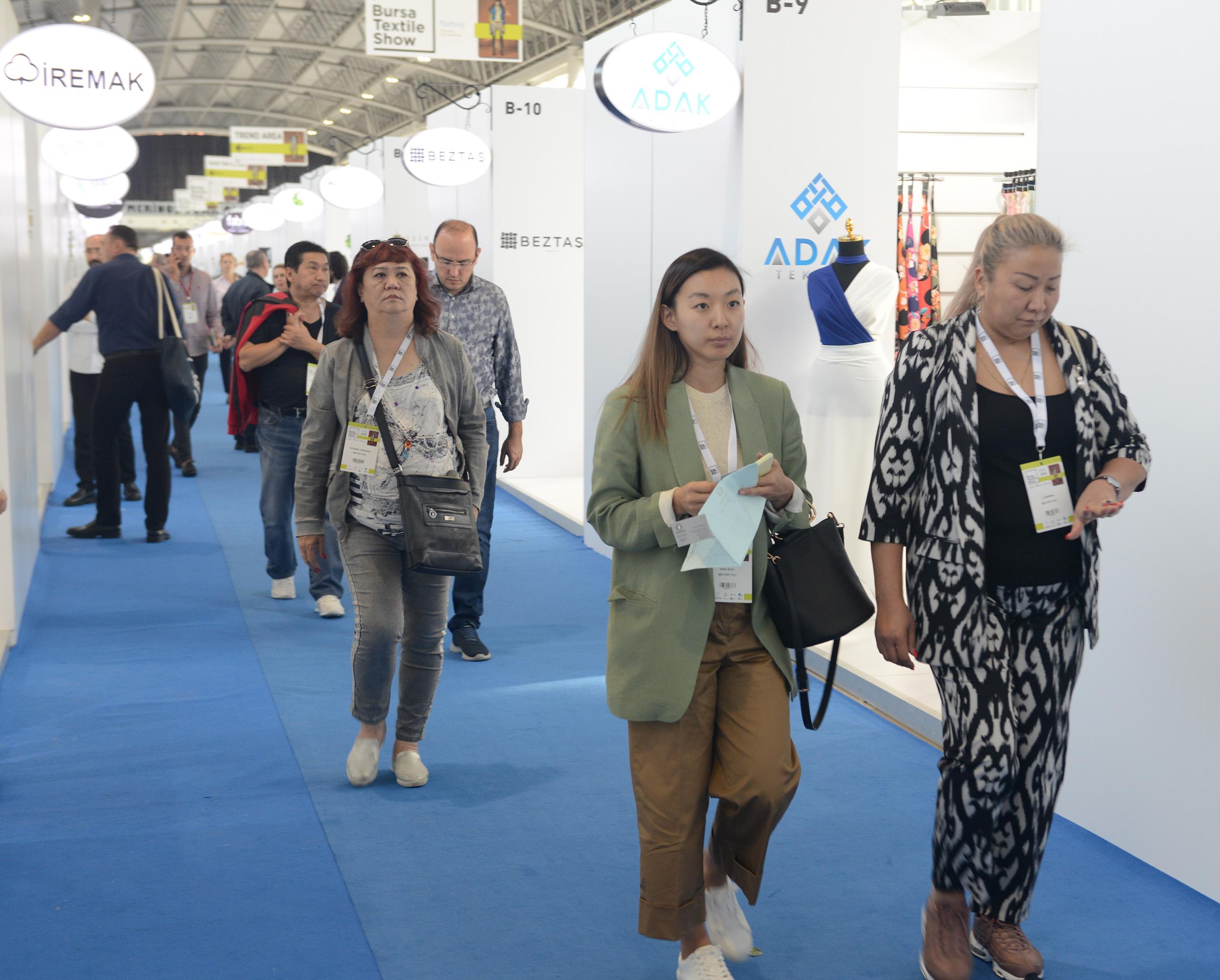 Bursa Textile Show Breaks Record