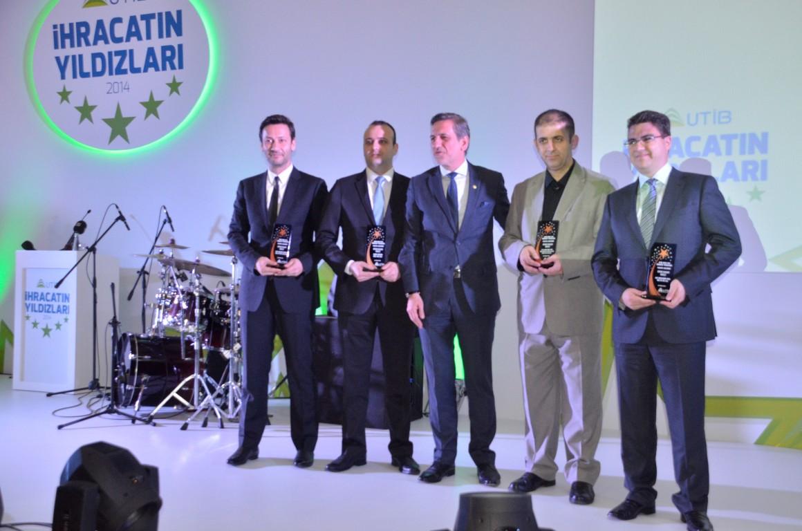 """Çalık Denim'e UTİB'den """"başarılı ihracatçı"""" ödülü"""