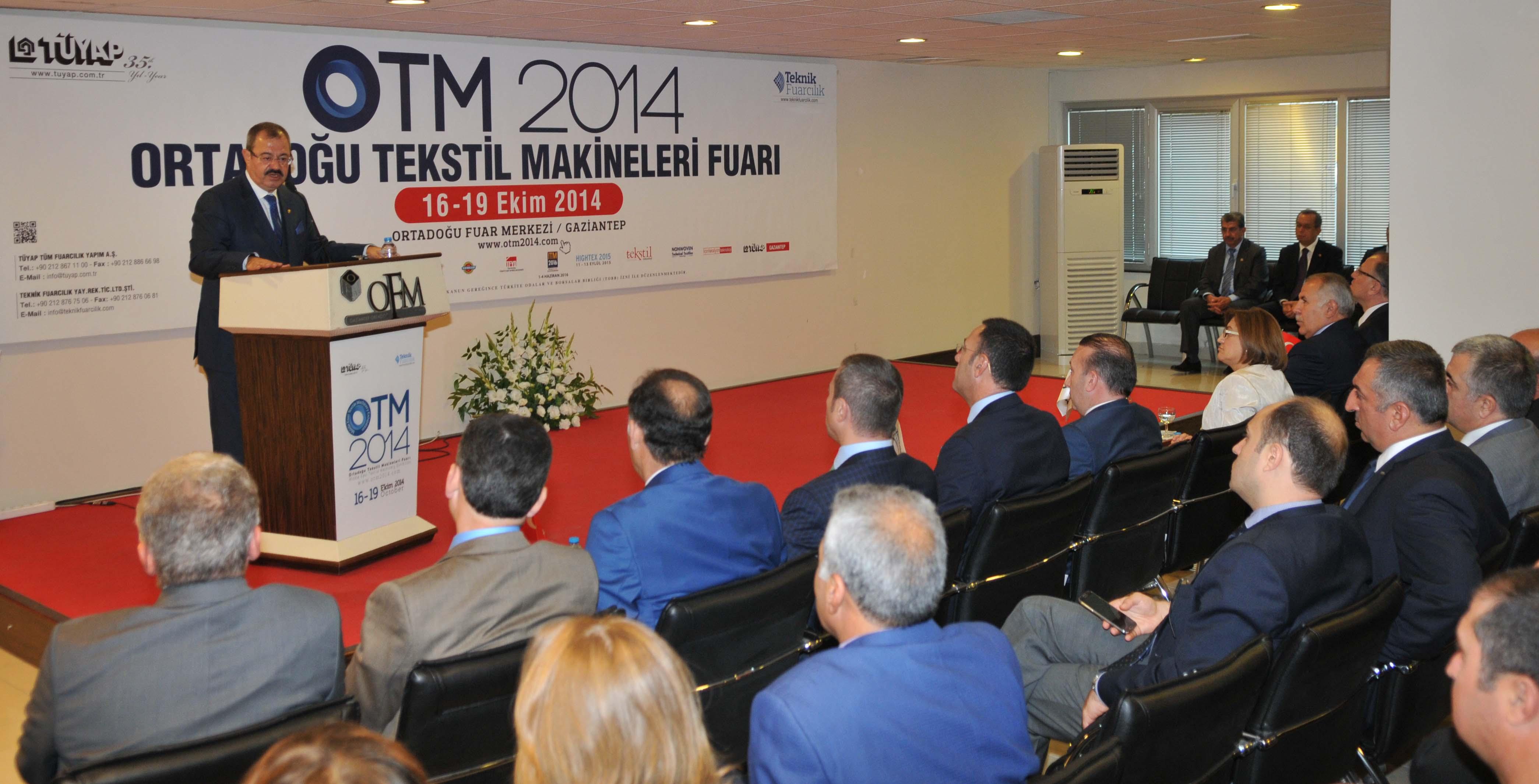 """OTM 2014''ORTADOĞU TEKSTİL MAKİNALARI FUARI"""" FİRMA GÖRSELLERİ"""