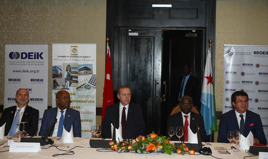 """""""Türkiye, Afrika'nın ve Cibuti'nin Kalkınmasına Katkı Sağlayacaktır"""""""
