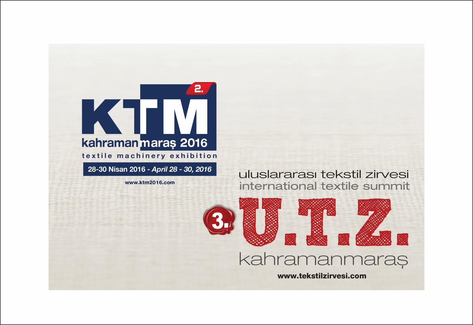 KahramanmaraşTextile Machines Show: KTM2016