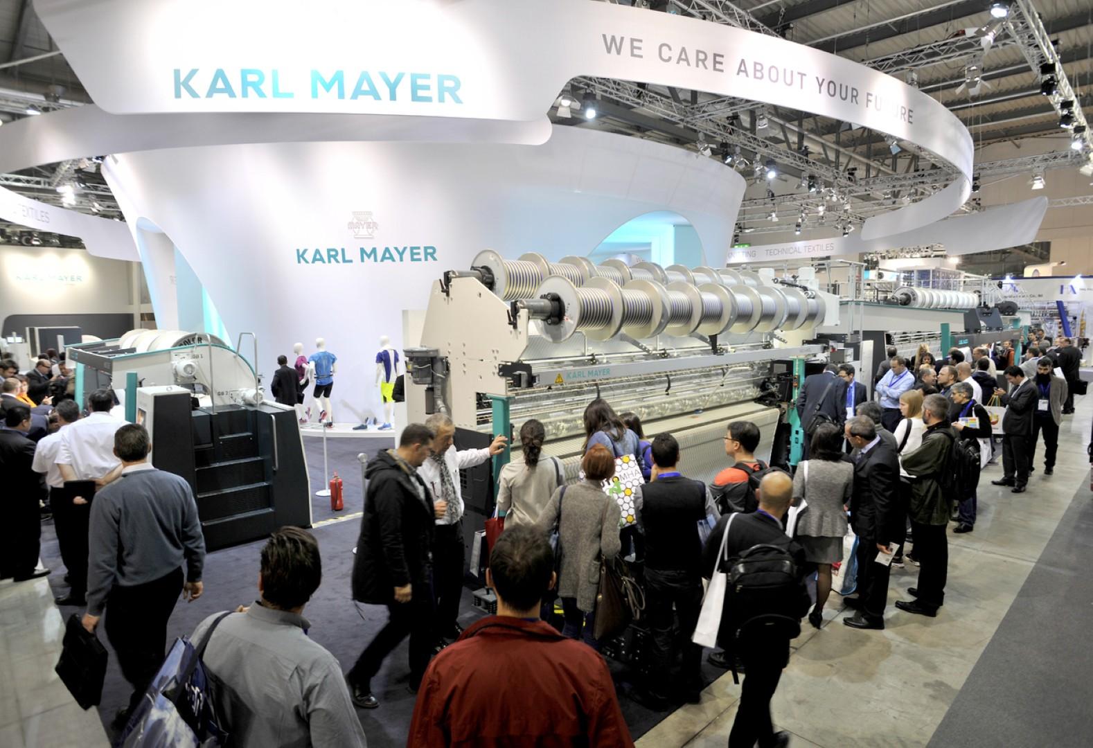 Karl Mayer ITMA 2015 Fuarı akılda kalıcı görüntüler