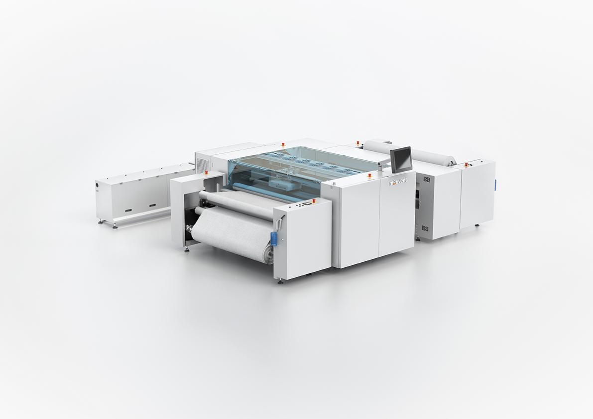 Mouvent'ın çığır açan 8-renk dijital tekstil baskı makinesi, TX801,  ITM 2018'in yıldızı olmaya aday