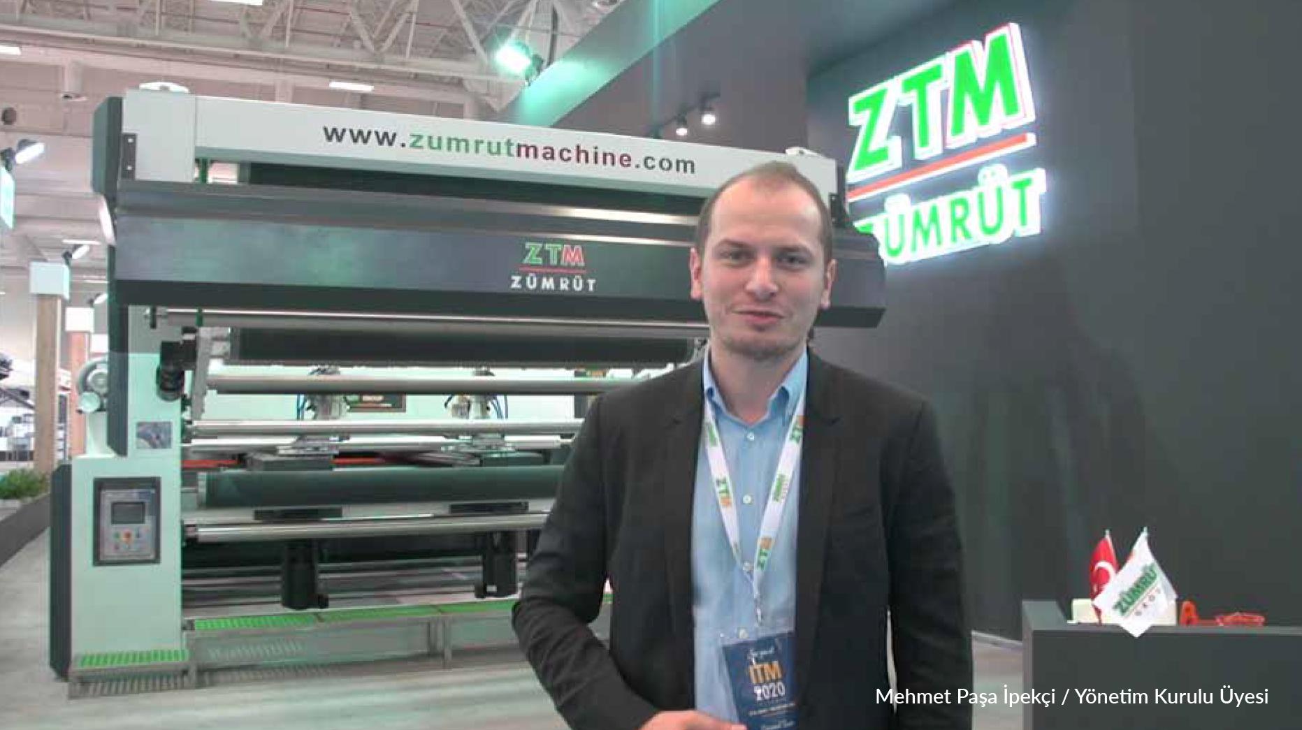 Zümrüt Tekstil Makine (ZTM) ITM 2018'de 900m2'lik Standında Şov Yaptı