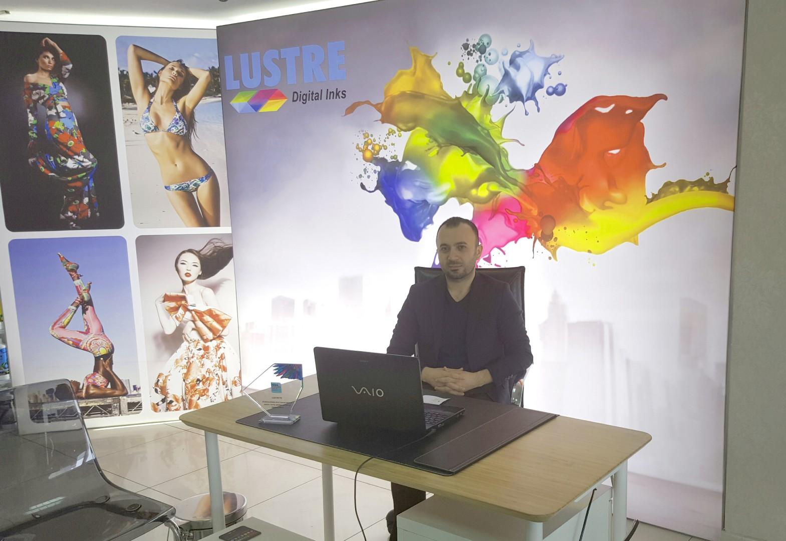 ''LUSTRE'' Tekstil  Baskı Boyaları  Global Marka Olma yolunda ilerliyor…