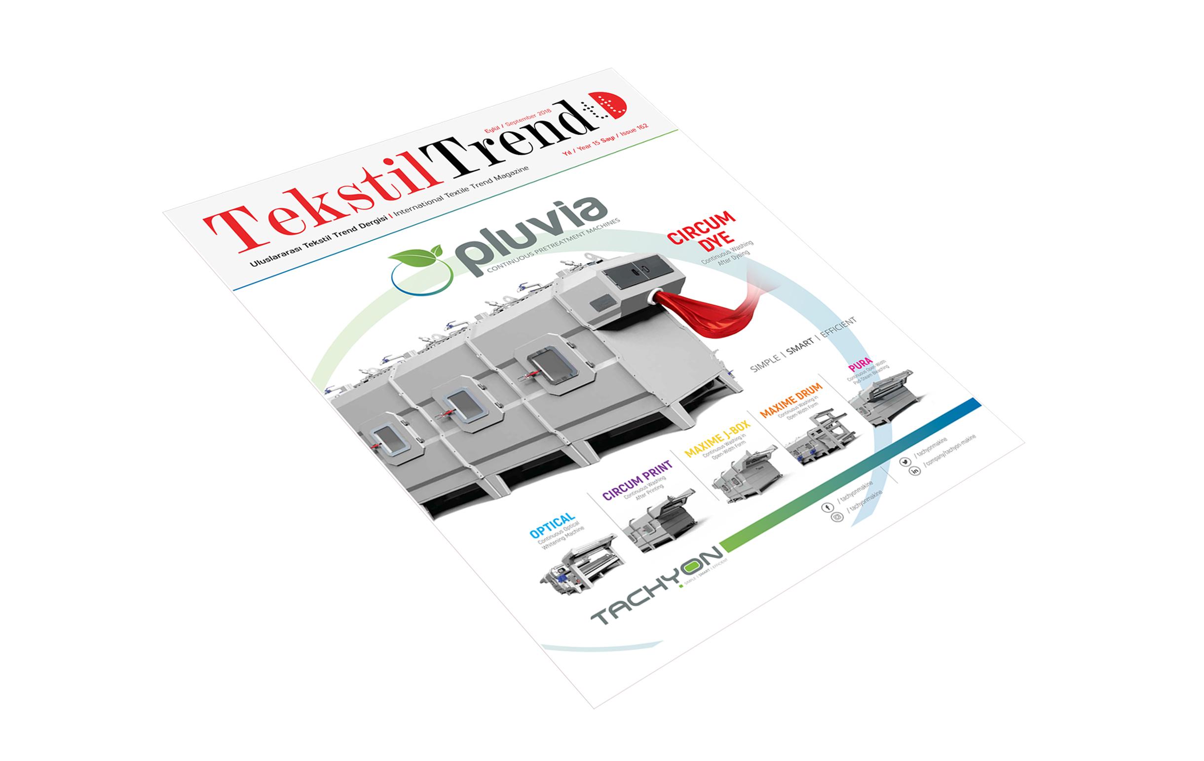 Tekstil Trend Dergisi Eylül / September 2018