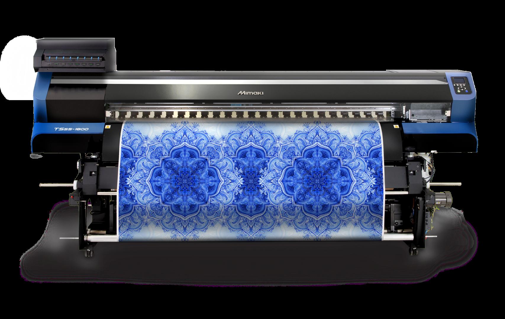 Tekstil Baskısında Devrim Başlatan Yeni Mimaki Baskı Makinesi