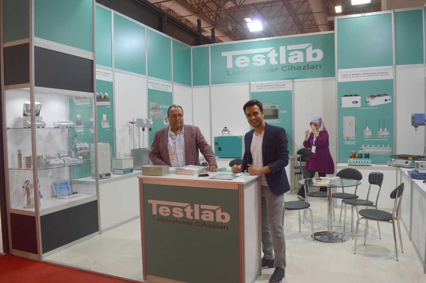 TESTLAB İnterdye & Textile Printing Eurasia 2018 fuarına katıldı
