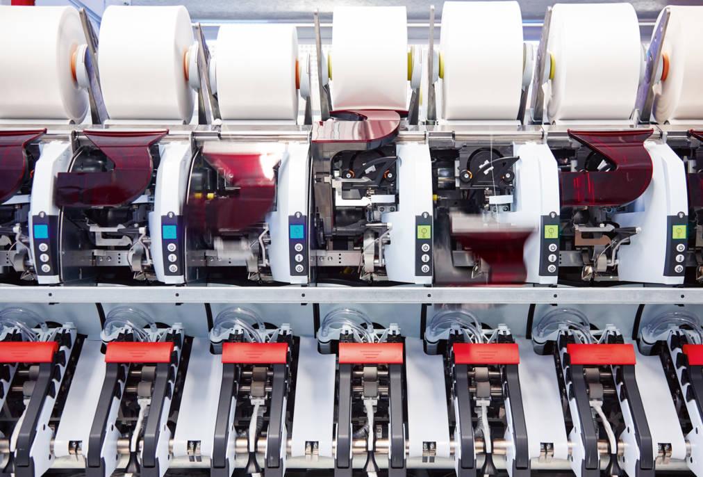 1085-Saurer Autoairo Air spinning machine