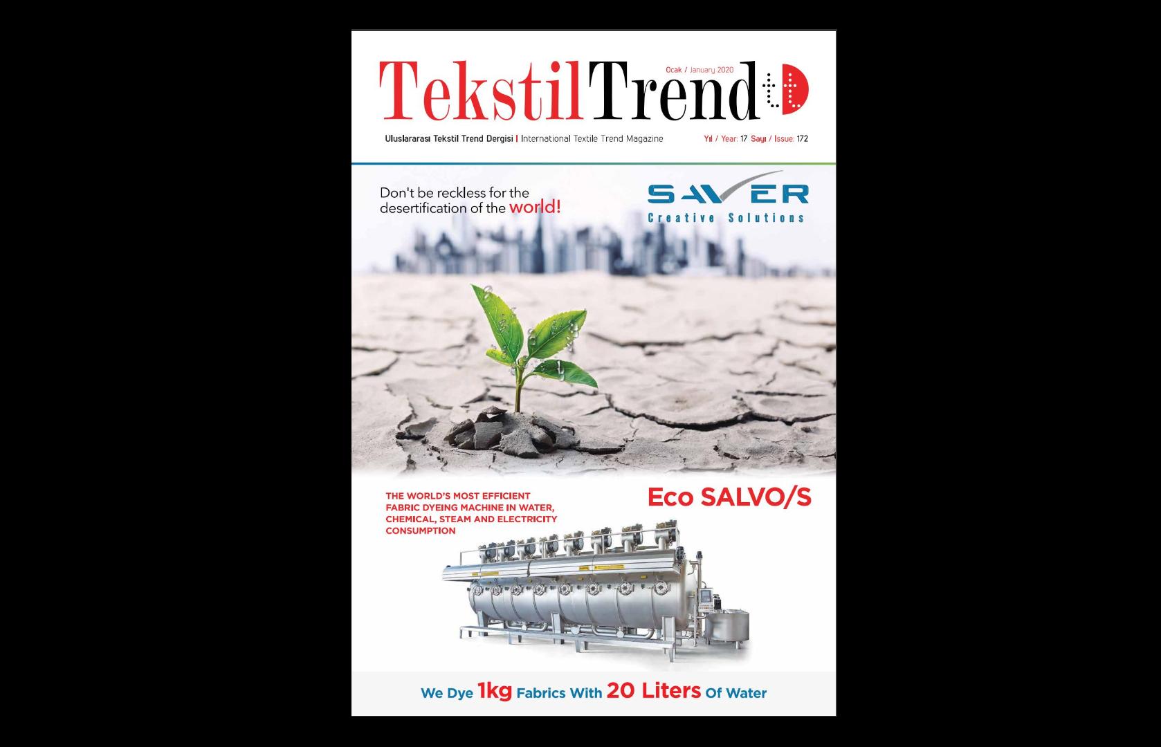 Tekstil Trend Dergisi Ocak 2020