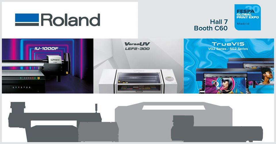 Roland DG, FESPA 2020'de Yeni Dijital Fırsatları Ortaya Çıkaracak